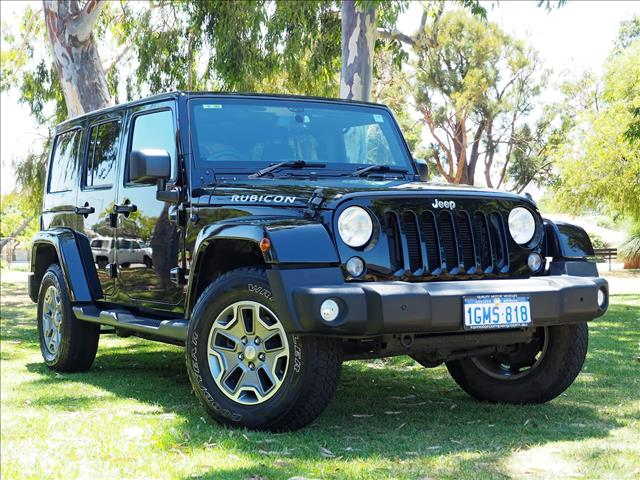 2016 JEEP WRANGLER Unlimited Rubicon JK SOFTTOP