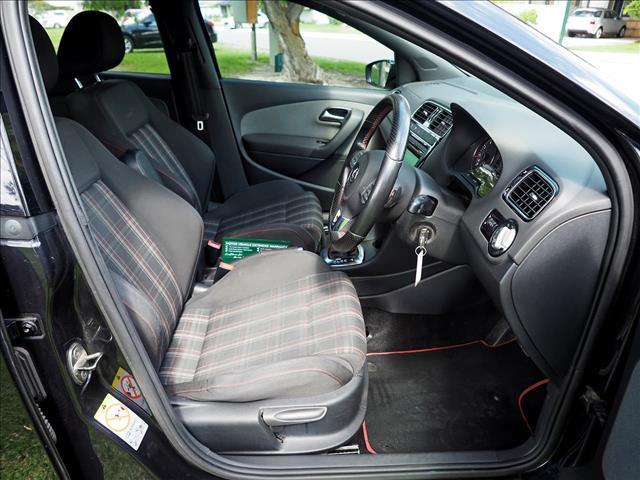 2011 VOLKSWAGEN POLO GTI 6R HATCHBACK