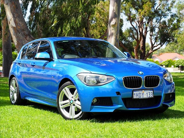2014 BMW 1 SERIES 118i F20 HATCHBACK