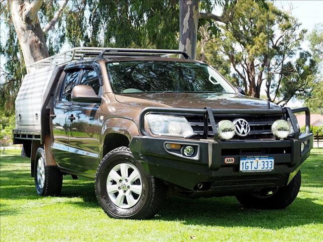 2012 VOLKSWAGEN AMAROK TDI400 Trendline 2H CAB CHASSIS