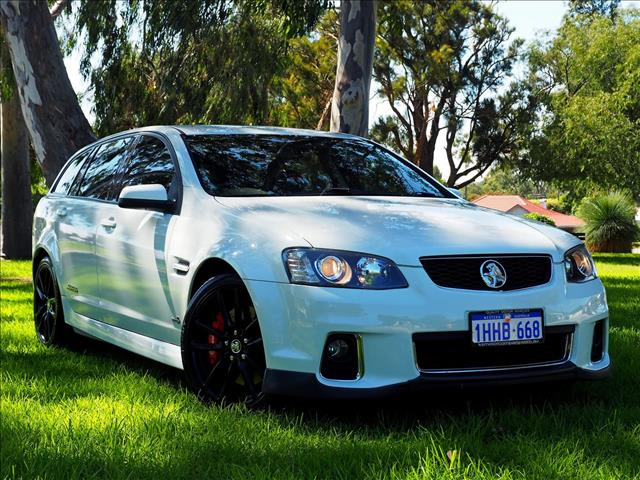 2011 HOLDEN COMMODORE SS V Redline VE Series II WAGON