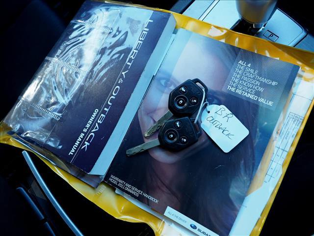 2011 SUBARU OUTBACK 2.5i 4GEN WAGON