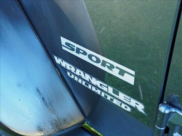 2010 JEEP WRANGLER Unlimited Sport JK SOFTTOP