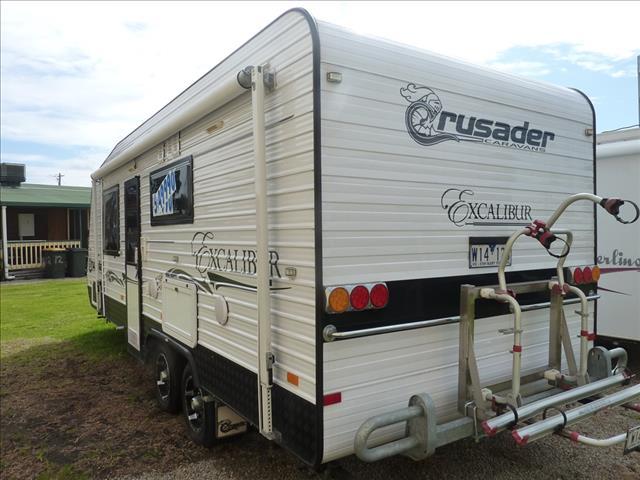 2013 CRUSADER EXCALIBUR 21FT 6IN CARAVAN ON SALE NOW