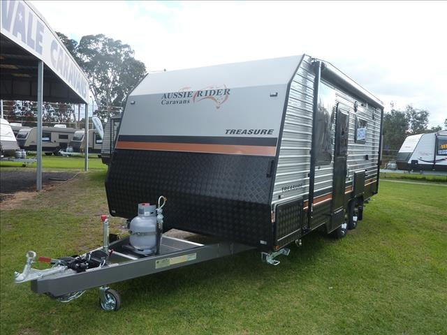 2019 AUSSIE RIDER 19ft FAMILY 3 BUNK CARAVAN