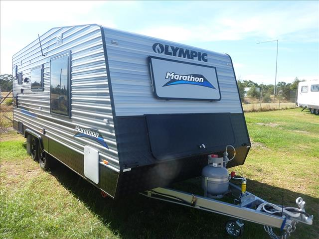 2019 OLYMPIC MARATHON 19FT 6IN FAMILY VAN - TANDEM AXLE