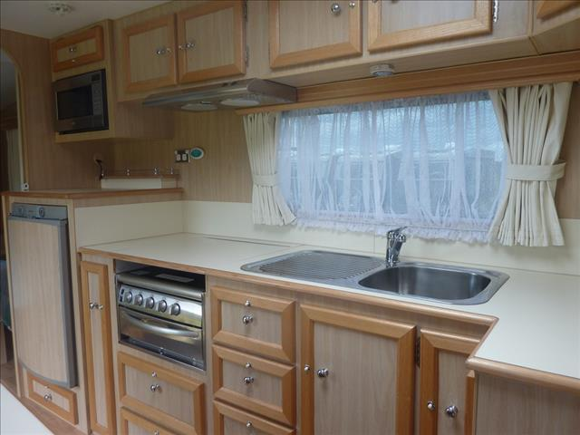 2007 SCENIC VEGA 17FT SINGLE AXLE CARAVAN