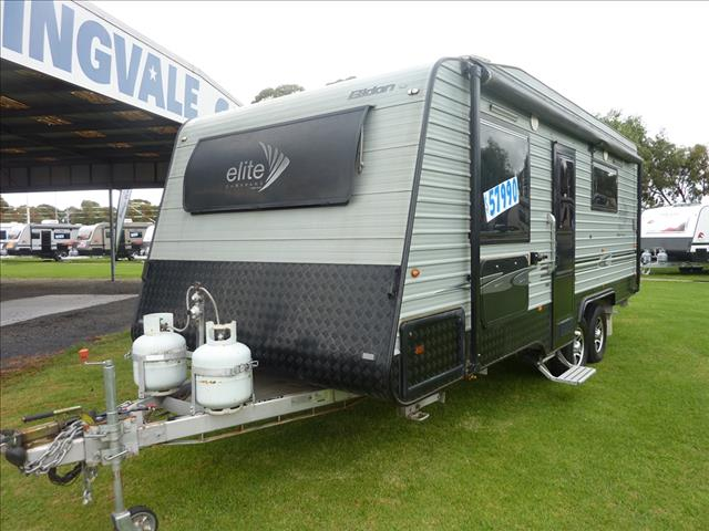 2013 ELITE 20FT 6IN EILDON DIAMOND SERIES CARAVAN