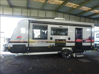 2020 SNOWY RIVER SR18 SILVER SINGLE AXLE CARAVAN