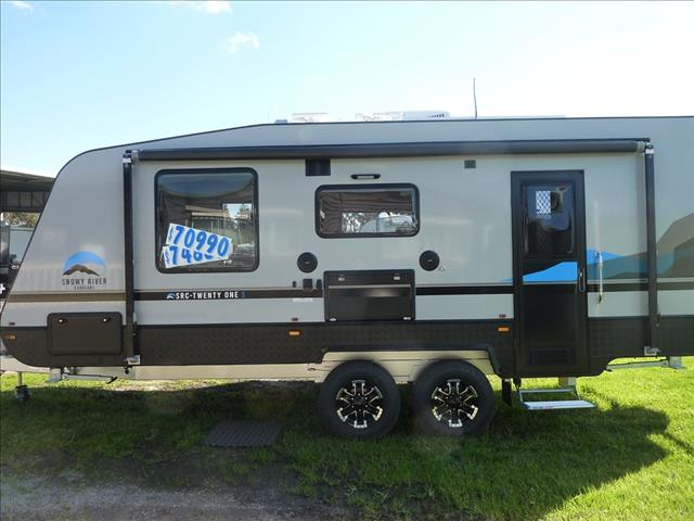 NEW 2021 SNOWY RIVER SRC 21S CARAVAN WITH SLIDE OUT LOUNGE ON SALE NOW