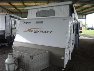 2014 JAYCO STARCRAFT 14FT POP TOP WITH AIR CONDITIONING