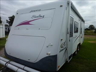 2007 JAYCO STERLING 21FT 6IN ENSUITE CARAVAN