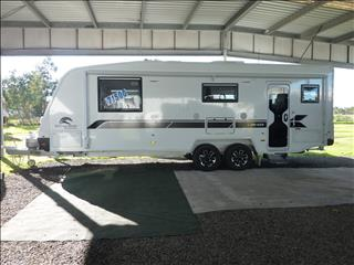 2020 SNOWY RIVER SRA23 HAS ARRIVED - 24FT TANDEM CARAVAN