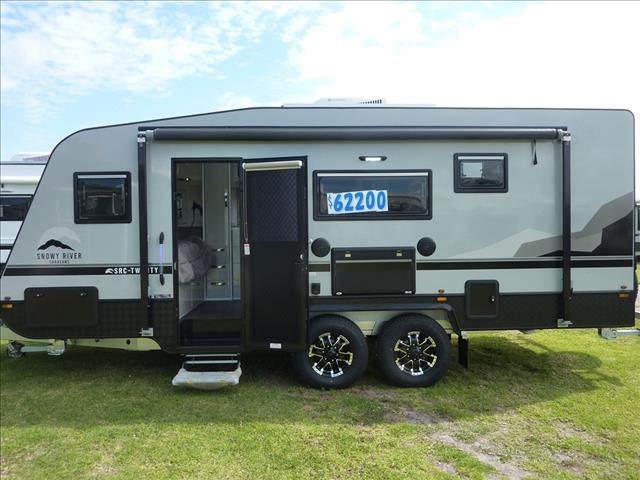 NEW 2021 SNOWY RIVER SRC20F FAMILY ENSUITE CARAVAN ON SALE NOW