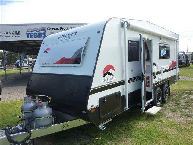 NEW 2021 SNOWY RIVER SRC20 TANDEM AXLE ENSUITE CARAVAN ON SALE NOW