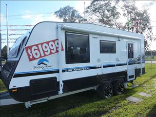 NEW 2019 SNOWY RIVER SR19S 21FT CARAVAN ON SALE NOW