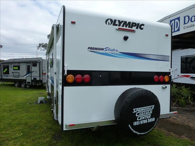 NEW 2016 OLYMPIC PREMIUM SLIDER LUXURY TOURING CARAVAN