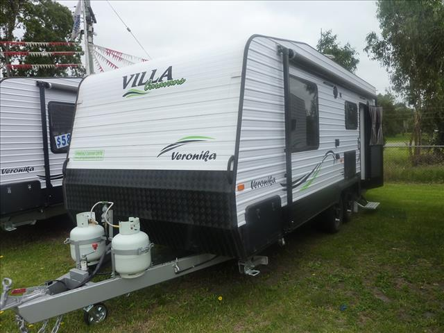NEW 2018 VILLA VERONIKA 21FT CARAVAN ON SALE NOW