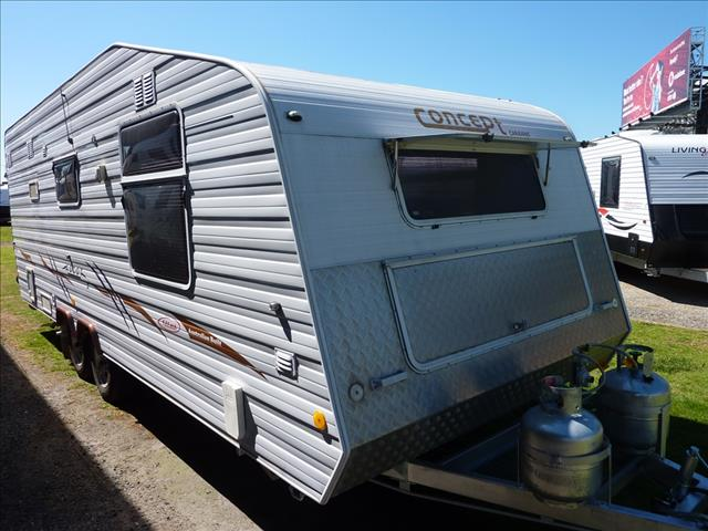 2007 CONCEPT ASCOT 22FT OZ PACK CARAVAN WITH ENSUITE