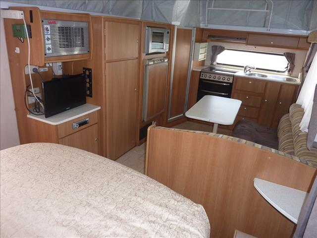 2007 JAYCO DESTINY OUTBACK 18FT TANDEM POP TOP