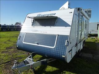 2009 SUPREME EXECUTIVE 20FT ENSUITE CARAVAN