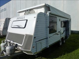 2009 ROMA ELEGANCE 19FT TANDEM POP TOP