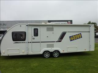2013 SWIFT EXPLORER 645 21FT 6IN ENSUITE 4 BERTH CARAVAN