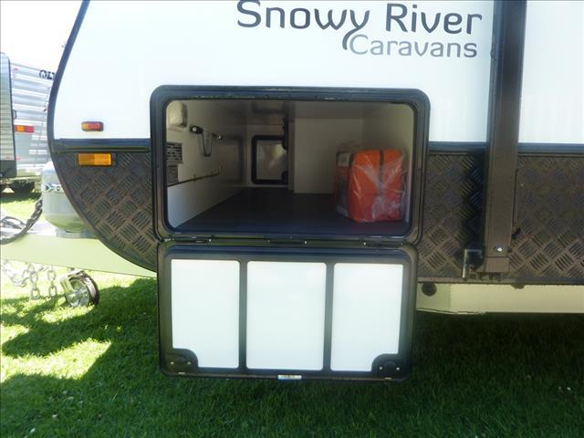 NEW 2018 SNOWY RIVER SR18 SINGLE AXLE CARAVAN