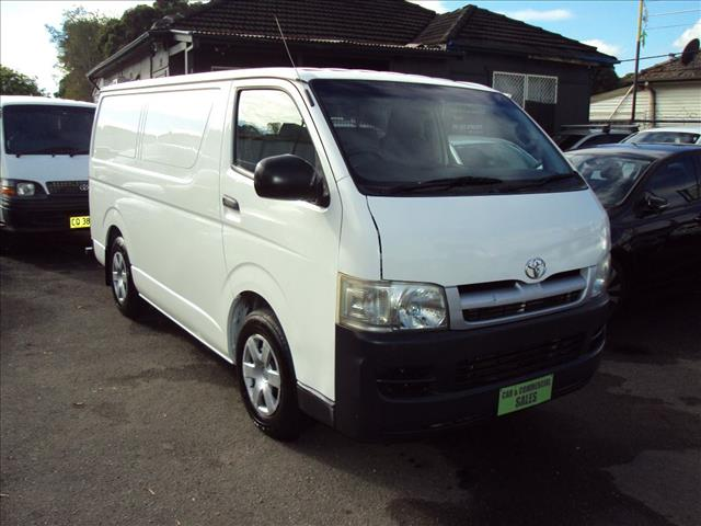 e16b3182097ece Used 2006 TOYOTA HIACE LWB KDH200R 4D VAN for sale in Punchbowl ...