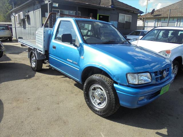 2002 HOLDEN RODEO LX TFR9 MY02 CCHAS
