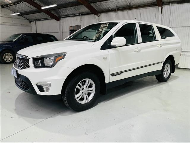 2014  SSANGYONG ACTYON SPORTS SX DUAL CAB Q150 MY14 UTILITY