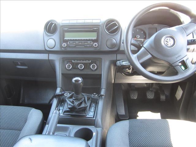 2011 VOLKSWAGEN AMAROK TDI400 (4x4) 2H DUAL CAB UTILITY