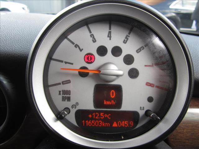 2009 MINI COOPER R56 2D HATCHBACK