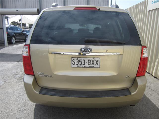 2008 KIA GRAND CARNIVAL (EX) VQ 4D WAGON