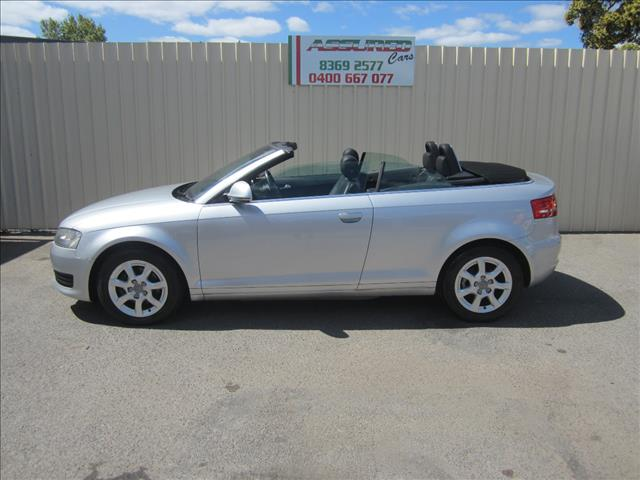 2009 AUDI A3 1.8 TFSI ATTRACTION 8P 2D CABRIOLET