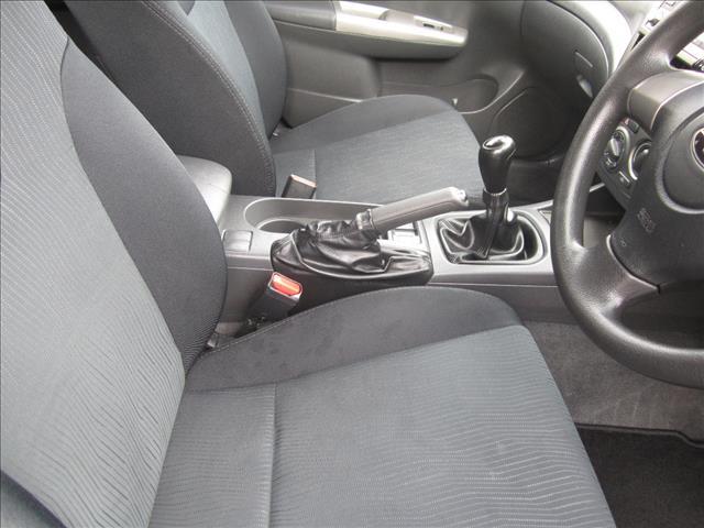 2008 SUBARU IMPREZA R (AWD) MY08 5D HATCHBACK