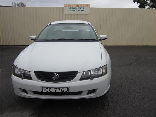 2003 HOLDEN COMMODORE VYII UTILITY