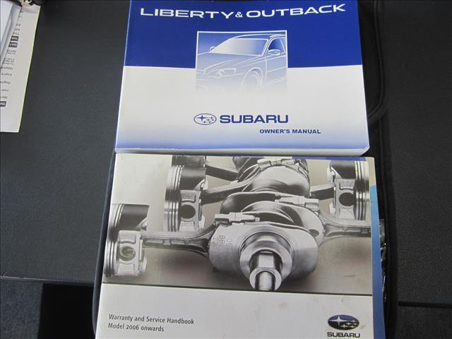 2007 SUBARU OUTBACK 3.0R PREMIUM MY07 4D WAGON