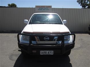 2010 NISSAN NAVARA ST-X (4x4) D40 SERIES 4 DUAL CAB P/UP