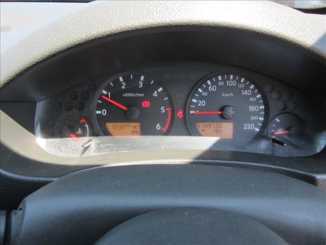 2010 NISSAN NAVARA ST (4x4) D40 DUAL CAB P/UP
