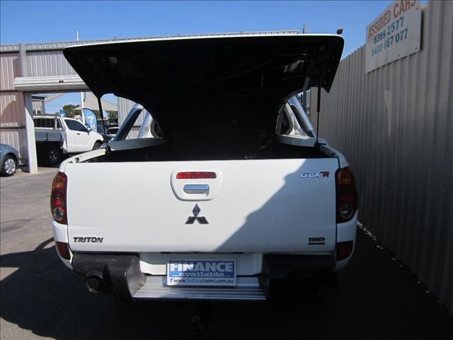 2009 MITSUBISHI TRITON GLX-R (4x4) ML MY09 DOUBLE CAB UTILITY