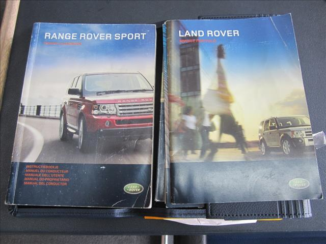 2007 RANGE ROVER RANGE ROVER SPORT 2.7 TdV6 MY07 4D WAGON