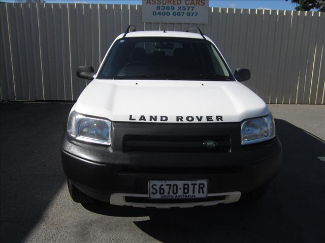 2003 LAND ROVER FREELANDER SE (4x4) 4D WAGON