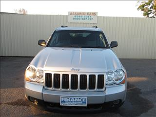 2009 JEEP GRAND CHEROKEE LAREDO (4x4) WH MY08 4D WAGON