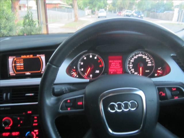 2010 AUDI A4 1.8 TFSI B8 (8K) MY11 4D SEDAN