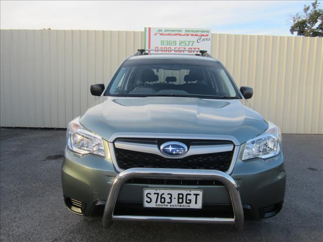 2013 SUBARU FORESTER XS MY12 4D WAGON
