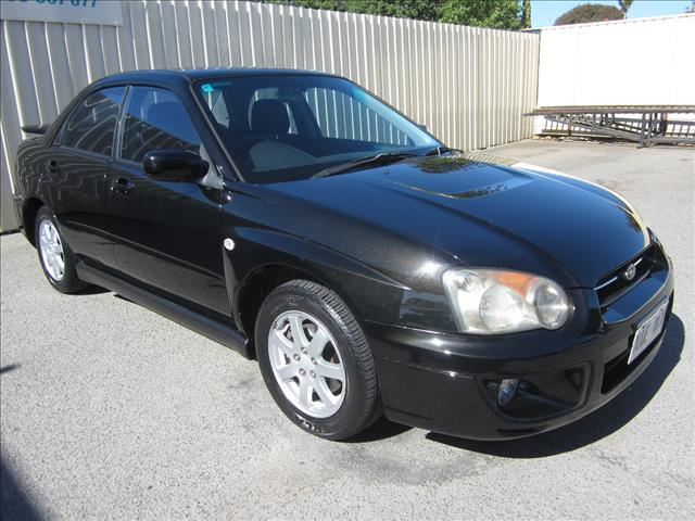 2003 SUBARU IMPREZA RX (AWD) MY04 4D SEDAN