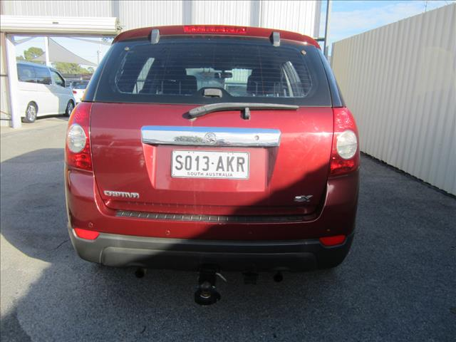 2007 HOLDEN CAPTIVA SX (4x4) CG MY08 4D WAGON