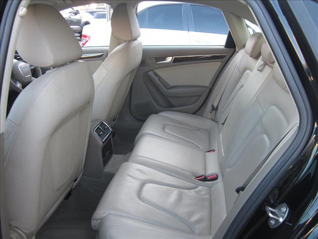 2010 AUDI A4 2.0 TFSI QUATTRO B8 (8K) MY11 4D SEDAN