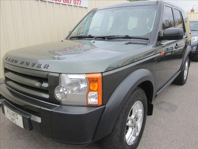 2005 LAND ROVER DISCOVERY 3 S 4D WAGON